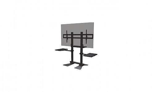 """Сверхпрочная напольная стационарная стойка для дисплеев диагональю 70""""+"""