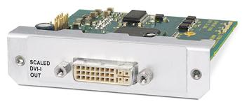 Аксессуары для скалеров и процессоров обработки сигналов - Выходная плата скалера