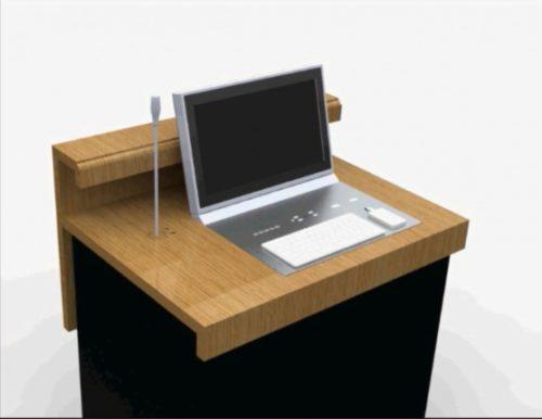 Комплексное решение: выдвижной монитор Arthur Holm Dynamic