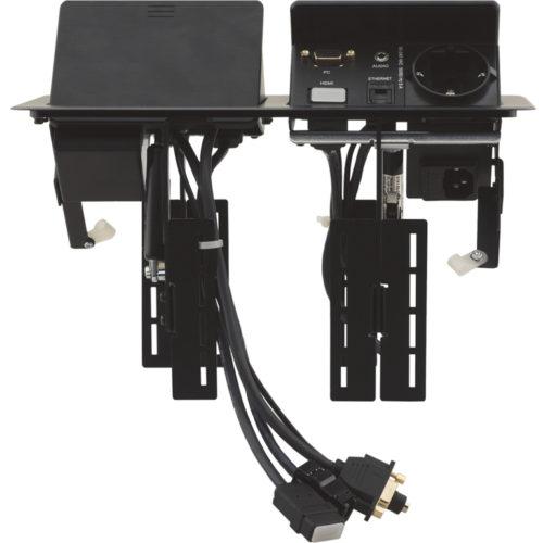Сдвоенный модуль для подключения кабелей Kramer TBUS-202XL