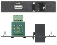 AAPs - Data/Phone - One USB A to 4-pin Captive Screw Terminal Connector