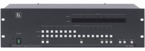 Матричный коммутатор 16х8 сигналов RGBHV и балансных стереоаудиосигналов Kramer VP-1608