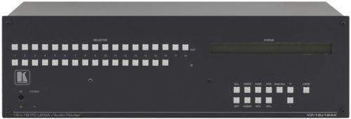 Матричный коммутатор 16x18 сигналов VGA и стереоаудио Kramer VP-16X18AK