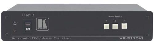 Высококачественный автоматический коммутатор 3х1 сигналов DVI