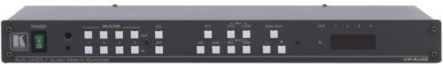 Матричный коммутатор 4х4 компьютерного графического сигнала и балансного стереофонического аудиосигнала Kramer VP-4x4K