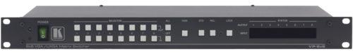 Высококачественный матричный коммутатор 8х8 сигналов VGA с переключением в интервале кадрового гасящего импульса Kramer VP-8x8