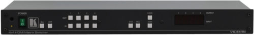 Матричный коммутатор 4x4 сигналов HDMI Kramer VS-44HN