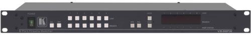 Высококачественный шести портовый двунаправленный коммутатор для перенаправления сигналов интерфейса IEEE 1394 Kramer VS-66FW
